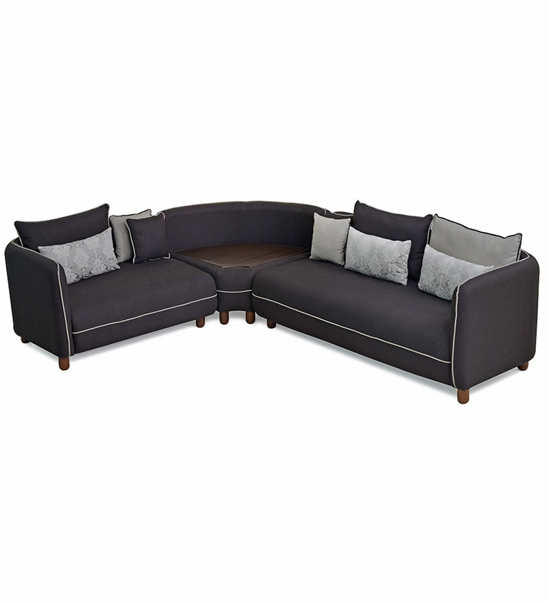 home soft corner sofa with storage by home online sofa sets furniture pepperfry product. Black Bedroom Furniture Sets. Home Design Ideas