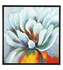 Canvas & Wood 29.5 x 1.5 x 30.3 Inch Garden Flowering Framed Painting by @ Home