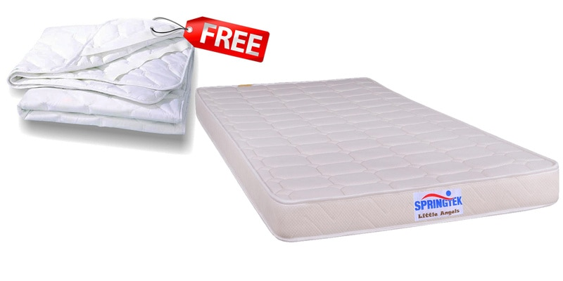 (Free Mattress Protector) Premium Foam Single Size (78x36) 4 Inches Thick Mattress  with 8 years warranty by Springtek