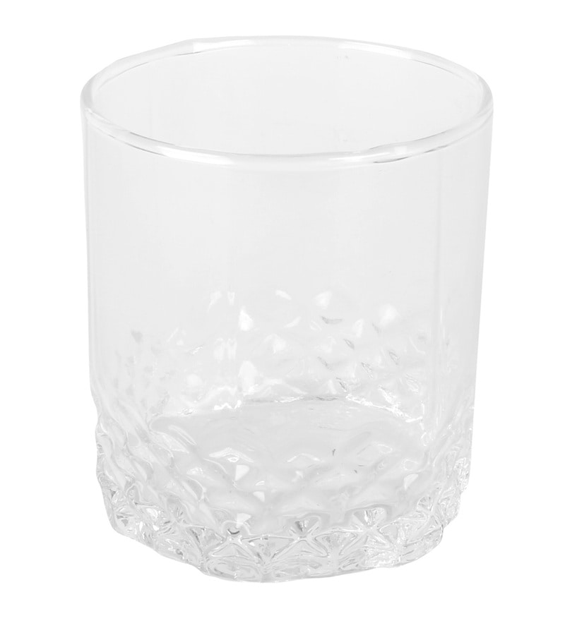 @Home Washington Glass 380 ML Tumblers - Set of 6