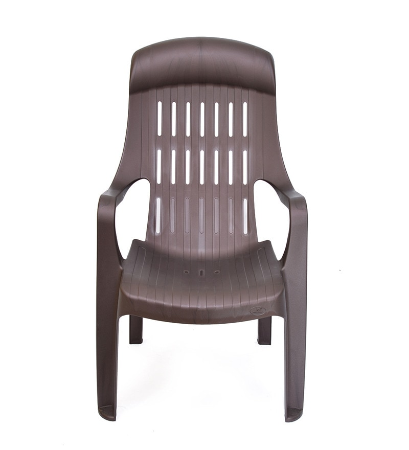 Buy Weekender Leisure Arm Chair In Brown Colour By