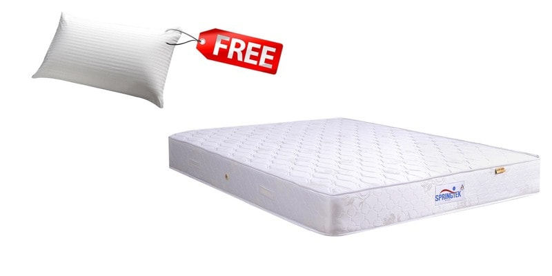 Queen Size (78x60) 8 Inches Thick Pocket Spring Mattress (FREE Pillow) by Springtek