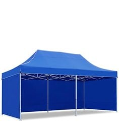 Portable Heavy-Duty Gazebo with Side Cover in Blue Colour  sc 1 st  Pepperfry & Canopy Tent: Buy Canopy Tents u0026 Outdoor Garden Umbrellas Online in ...