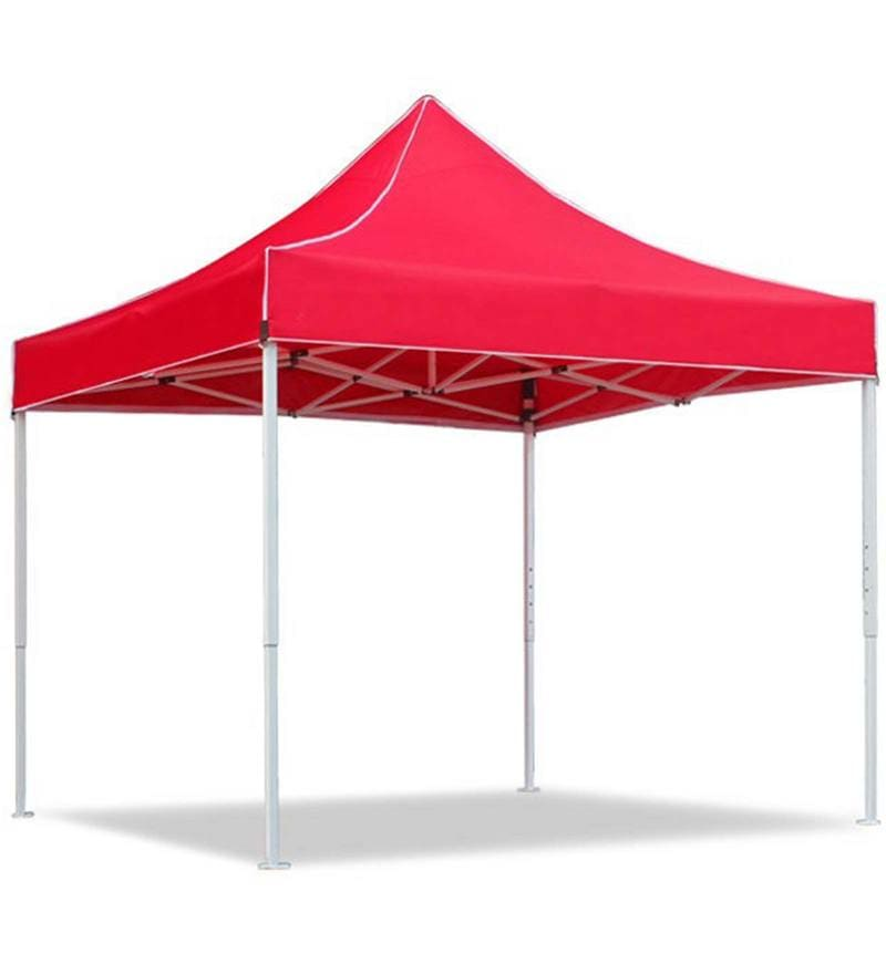 Portable Heavy-Duty Gazebo in Red Colour by Adapt Affairs