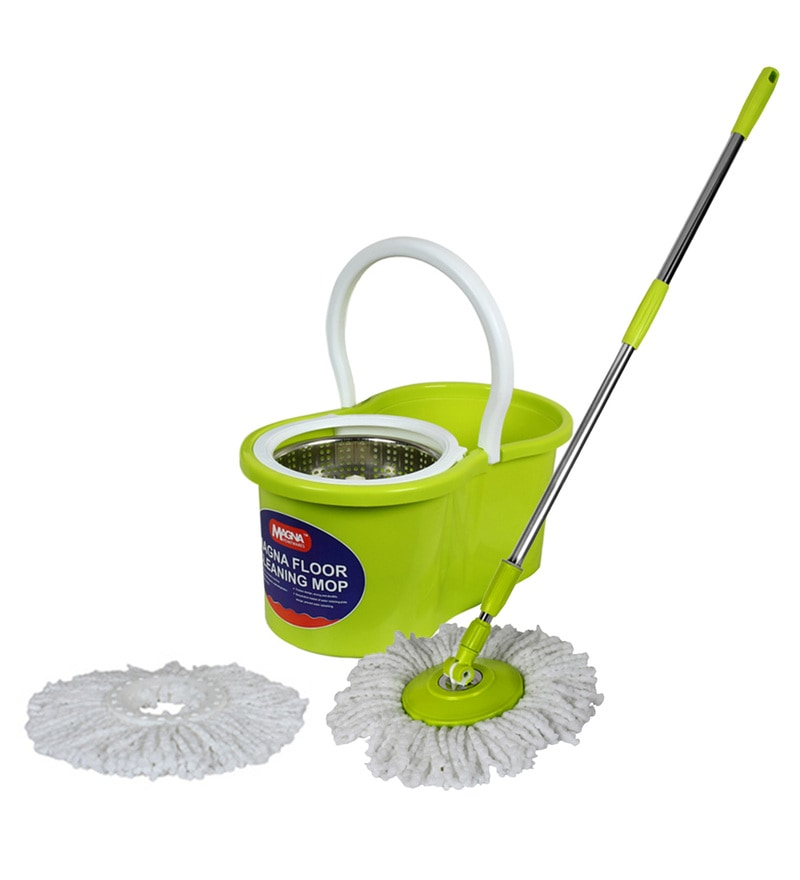 Buy Quick & Easy 360 Degree Iglide Instant Spray Mop with 2