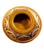 Aamori Brown Brass Tea Light Holder