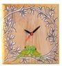 Aamori Brown Wooden Desk Clock