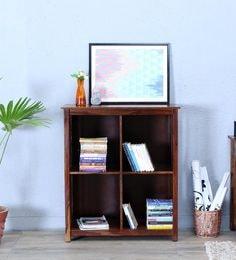 Abbey Book Shelf In Provincial Teak Finish