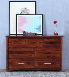 Abbey Chest Of Drawer In Honey Oak Finish