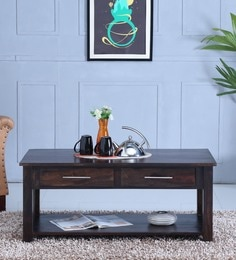 Abbey Coffee Table In  Warm Chestnut Finish - 1597162