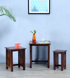 Abbey Set Of Tables In Provincial Teak Finish