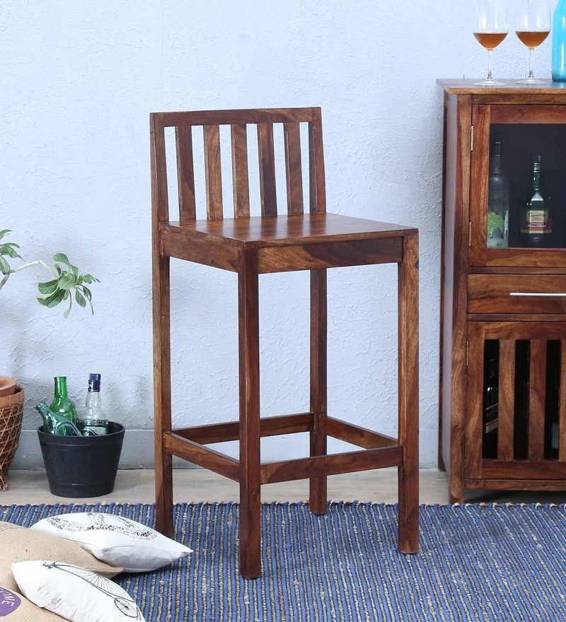 Abbey Bar Chair in Provincial Teak Finish by Woodsworth