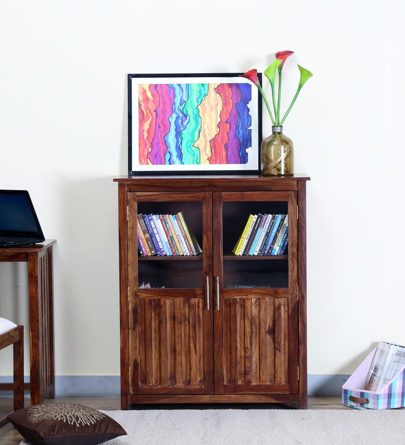 Abbey Book Case in Provincial Teak Finish by Woodsworth