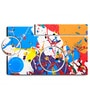 Hashtag Decor Abstract Vivid Painting Engineered Wood Art Panel