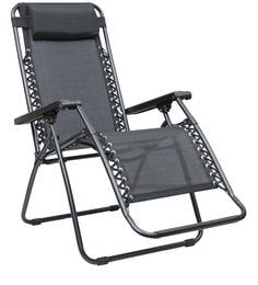 Acer Folding Outdoor Chair In Black Colour By HomeTown