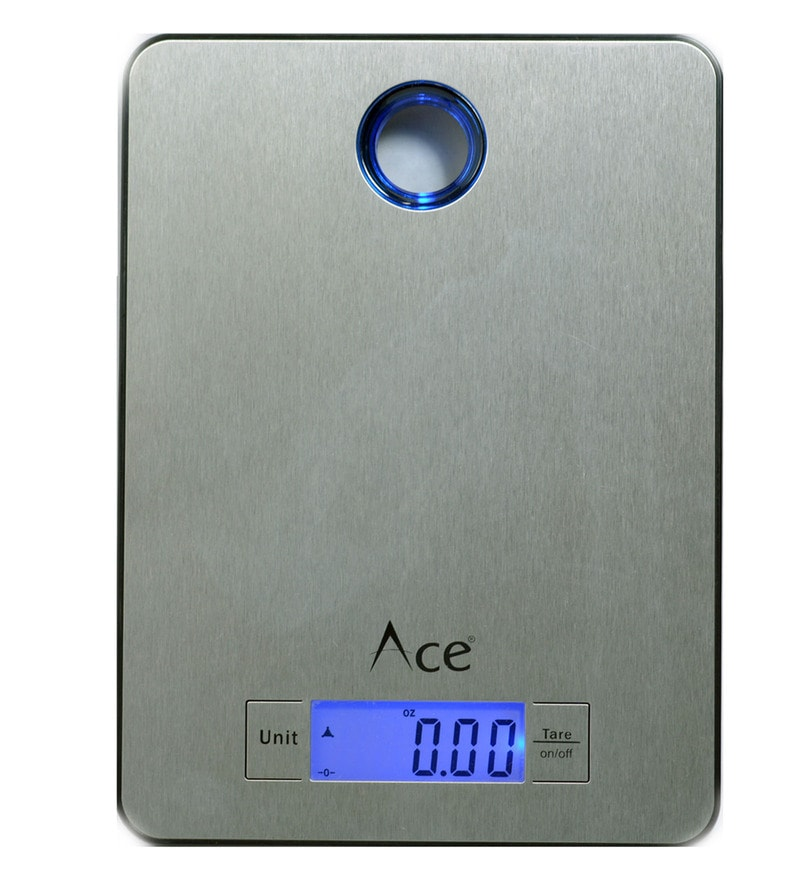 Ace ABS Silver Weighing Scale