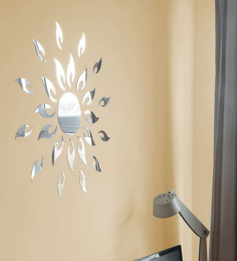 Acrylic Silver Sun 2 Mm Wall Decals by Sehaz Artworks