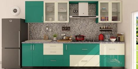 Straight Modular Kitchen Buy Straight Modular Kitchen Online In India At Best Prices Modular Kitchens Pepperfry