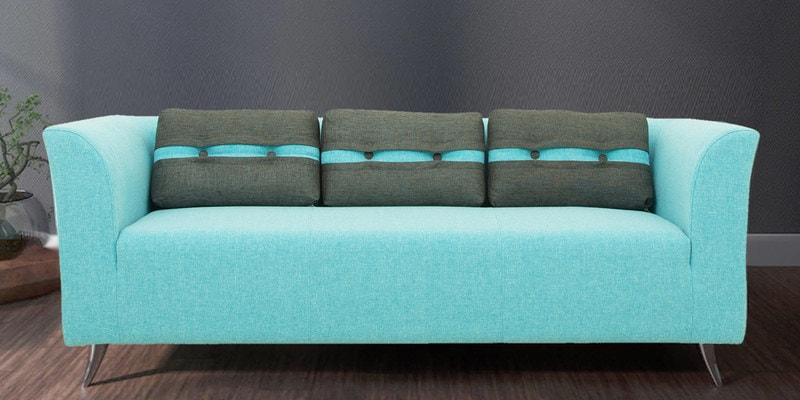Buy Sorocca Three Seater Sofa In Rust Colour By Forzza Online