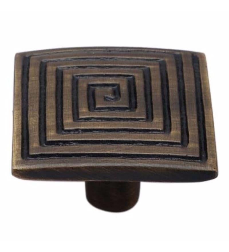Adonai Hardware Caleb Brass 1.4 Inch Cabinet Knob