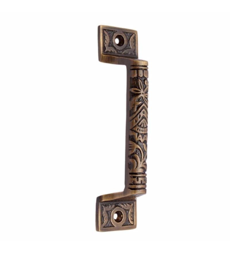 Adonai Hardware Gergesenes Brass 5 x 1.2 x 1 Inch Door Pull