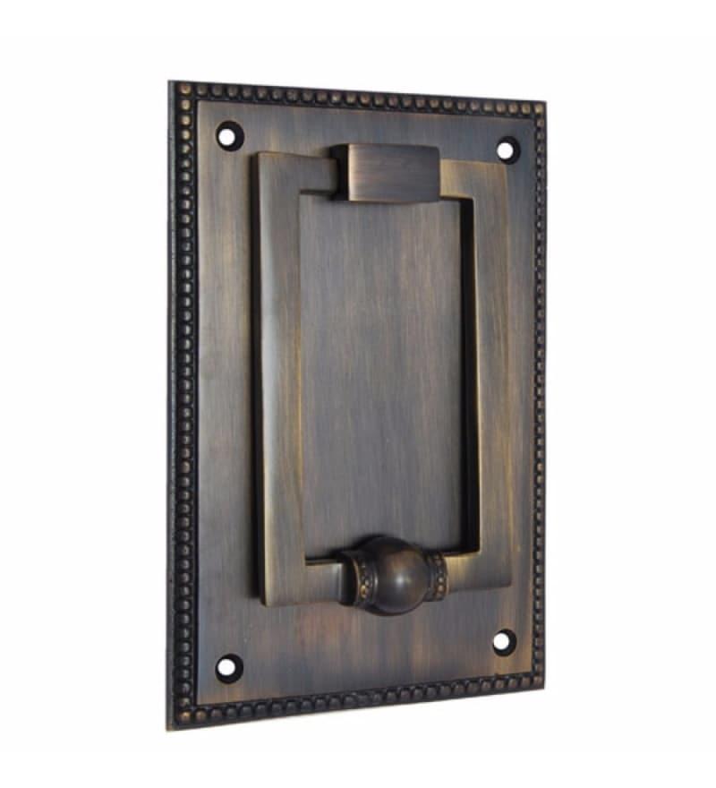 Adonai Hardware Jehoshaphat Brass 6.4 x 4.3 Inch Door Knocker