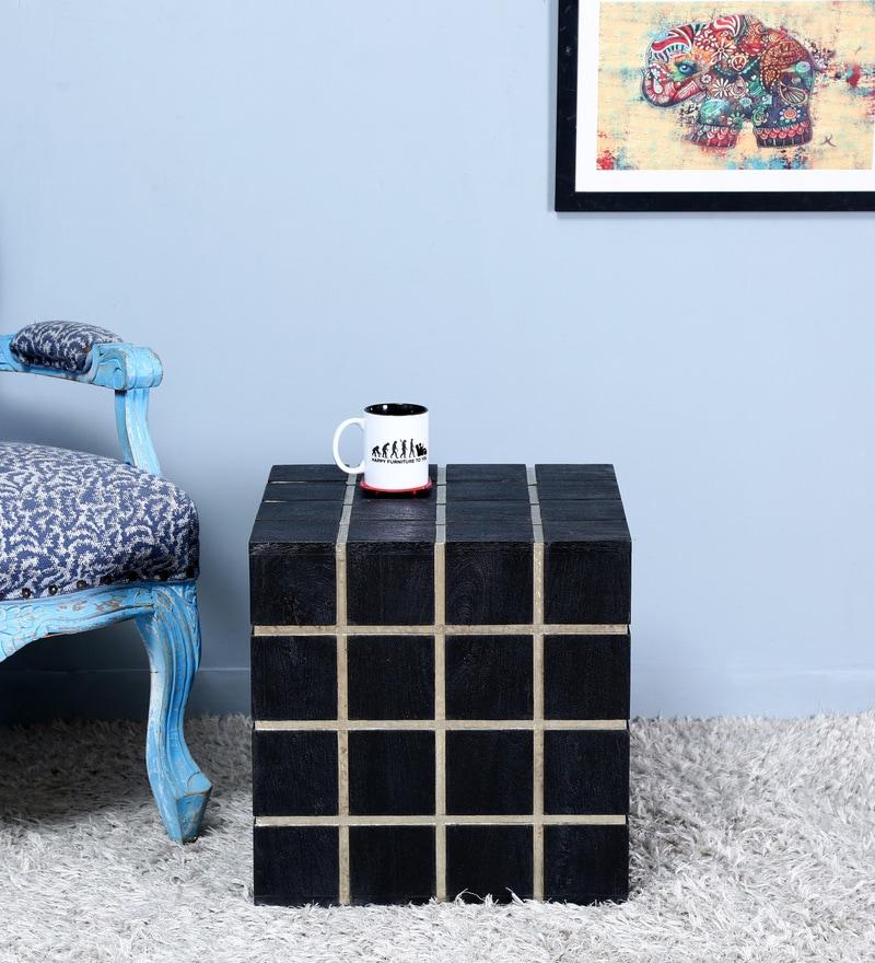 Bono Coffee Table in Black Color by Bohemiana