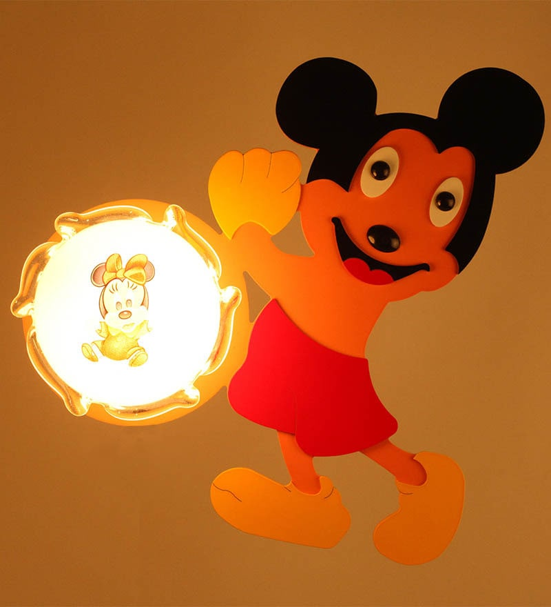Mickey Mouse Wall Light by Aesthetics Home Solution