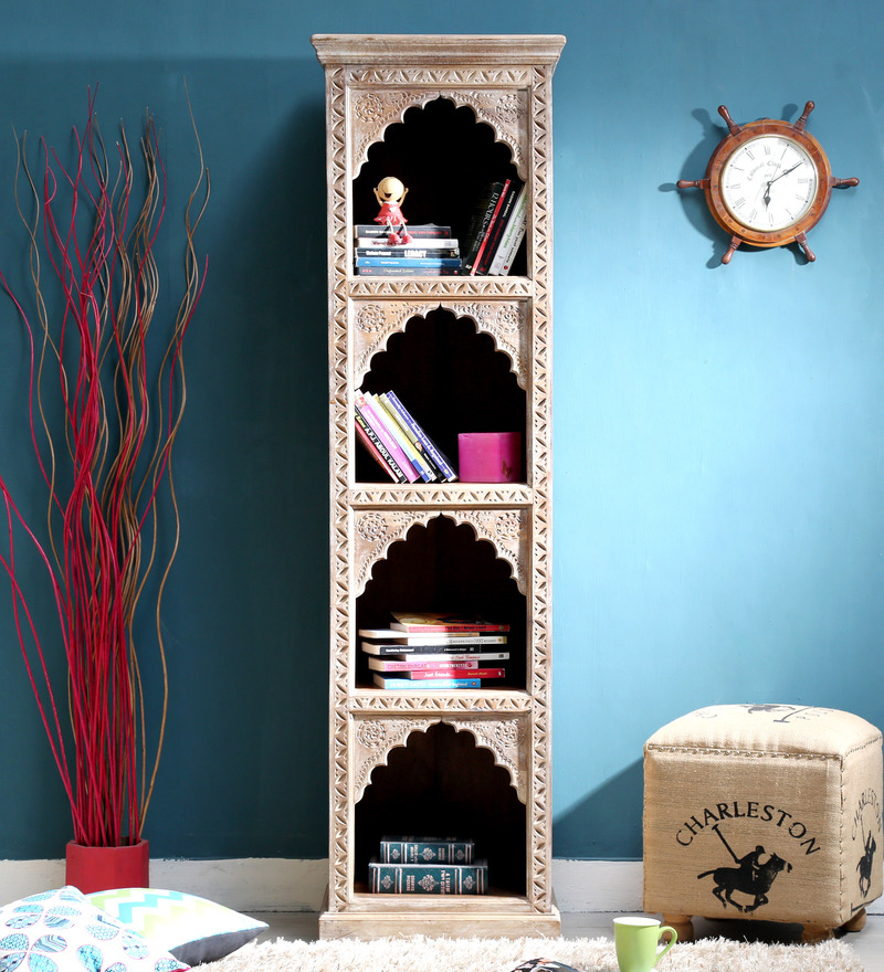 Cher Book Shelf in Distress Finish by Bohemiana