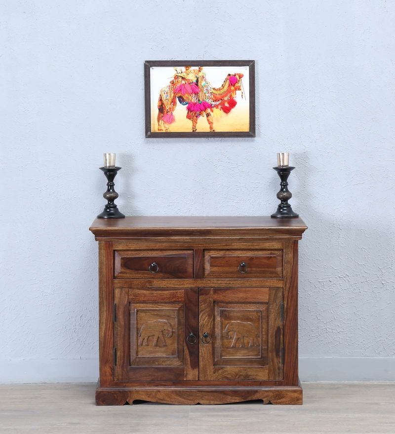 Airavana Two Door Sideboard in Provincial Teak Finish by Mudramark
