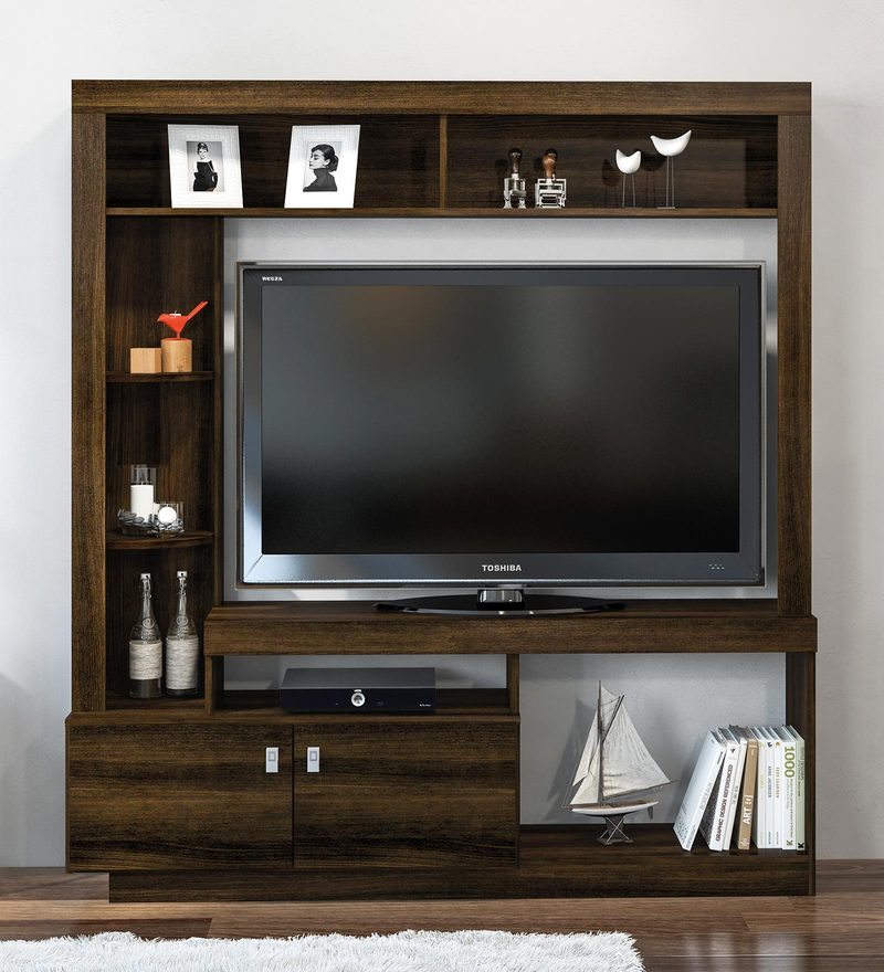 Akane Entertainment Unit in Rosewood Finish by Mintwud