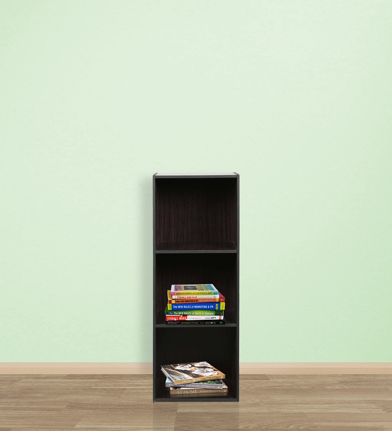 Akito Book Shelf in Light Cappuccino Finish by Mintwud