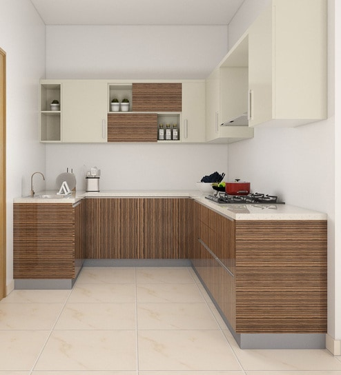 U Shaped Modular Kitchen Buy U Shaped Kitchen Design Online In India Best Price Pepperfry