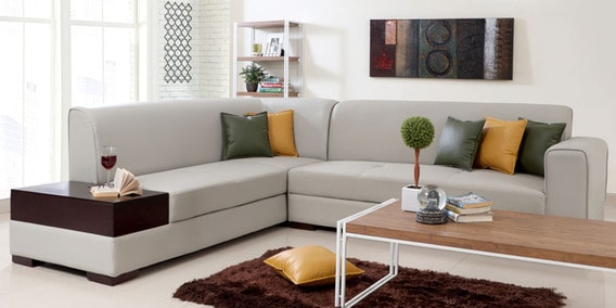 L Shaped Sofa: Buy L Shaped Corner Sofa Sets Online at Best ...