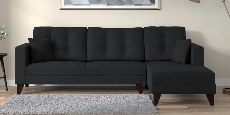 Buy Callysen L Shape Sofa In Dark Grey Colour By Madesos Online