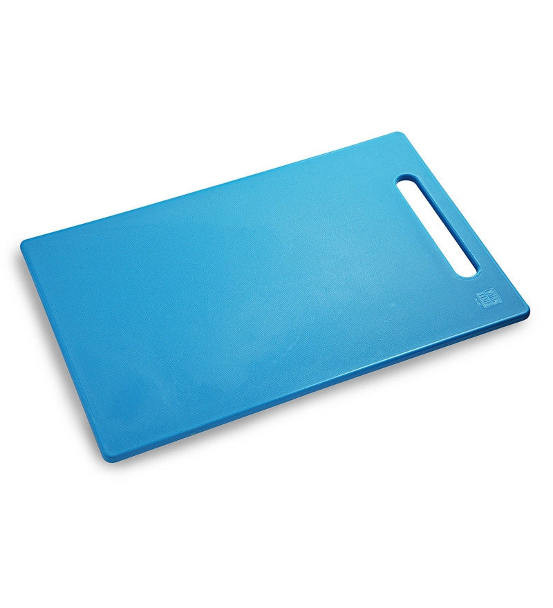 All Time Blue Plastic Chopping Board