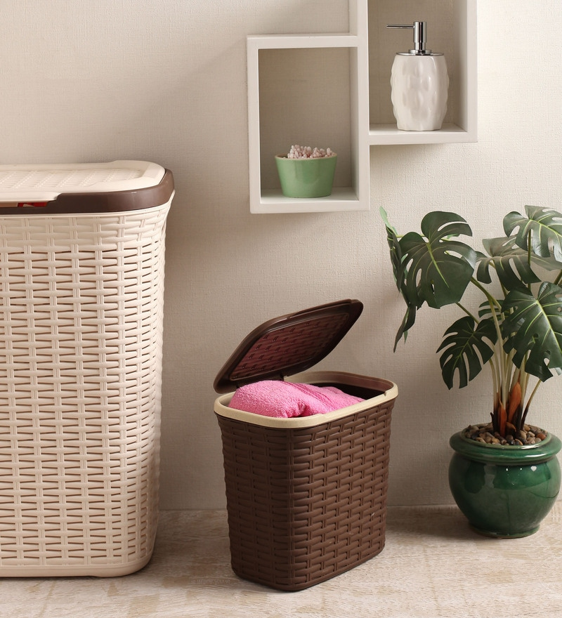 All Time Plastic Brown 7 L Cresta Basket
