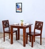 Alder Two Seater Dining Set in Honey Oak  Finish by Woodsworth