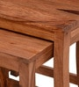 Toston Set of Tables in Warm Walnut Finish by Woodsworth