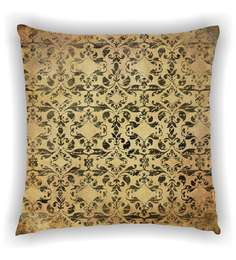 Ambbi Collections Multicolour Satin 16 X 16 Inch Digitally Printed Distorted Traditional Design Cushion Cover - 1606171