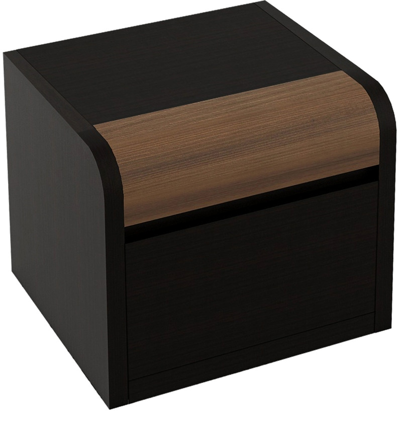 Buy Amazon Bed Side Table In Wenge Finish By Spacewood