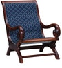 Amherst Arm Chair in Honey Oak Finish by Amberville