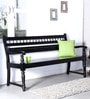 Maurya Handcrafted Bench in Espresso Walnut Finish by Mudramark