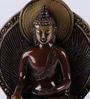 Amitav Buddha Showpiece in Multicolour by Mudramark