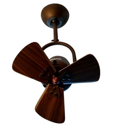 Anemos Fino 325 Mm Rust Brown Ceiling Fan