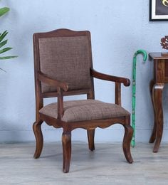 Anne Arm Chair In Provincial Teak Finish