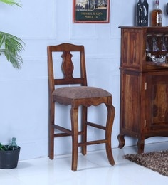 Anne Bar Chair In Provincial Teak Finish