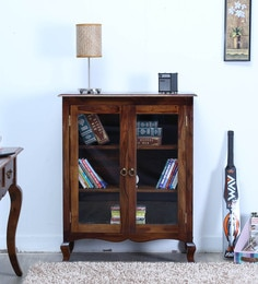 Anne Book Case In Provincial Teak Finish By Amberville