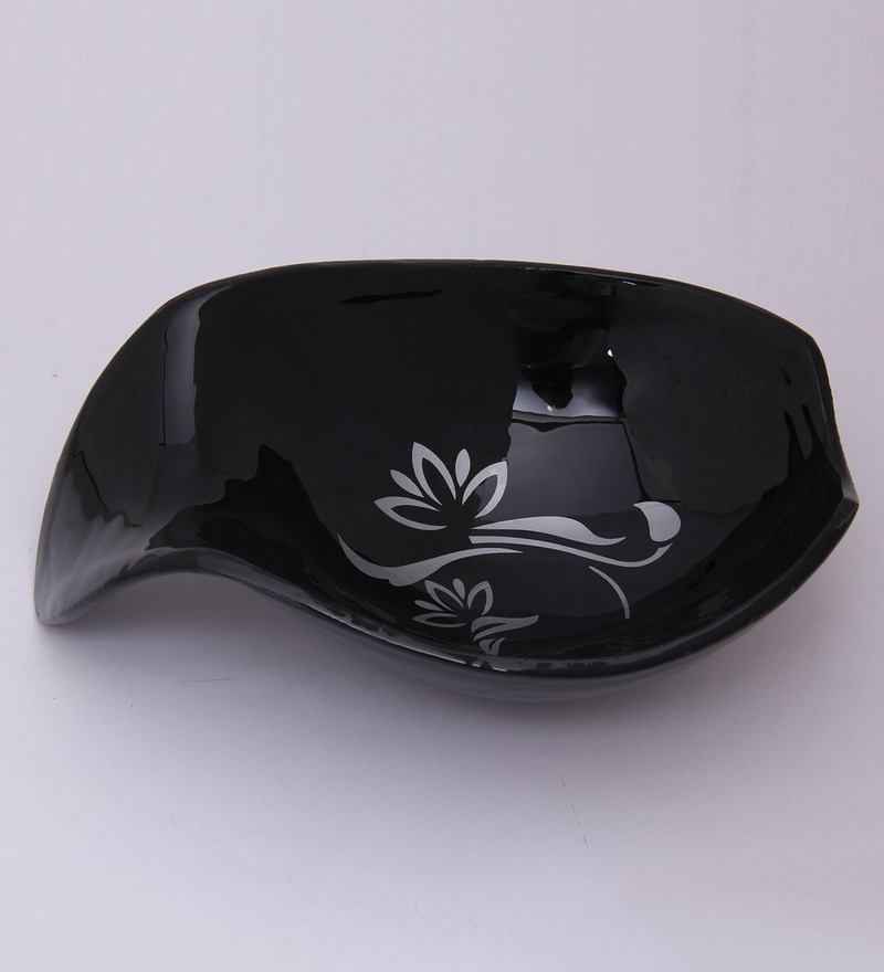 Anasa Black Metal Bowl