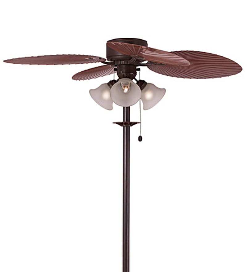 Buy Outdoor Stand 520 Mm Brown Pedestal Fan By Anemos